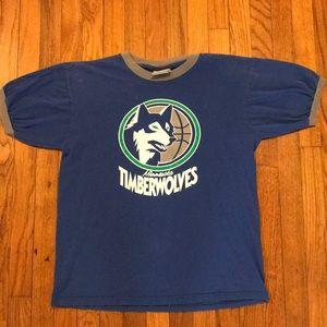 Vintage Hardwood Classics Minnesota Timberwolves T